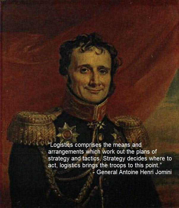 Jomini logistics quote