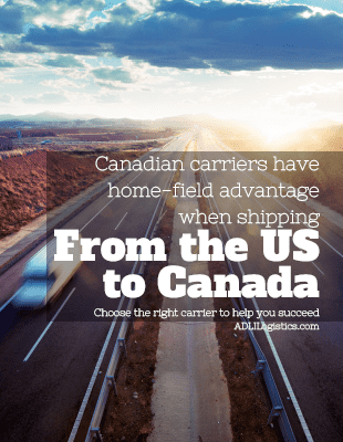 Whitepaper about why Canadian carriers are better at shipping to Canada from the US than American carriers.